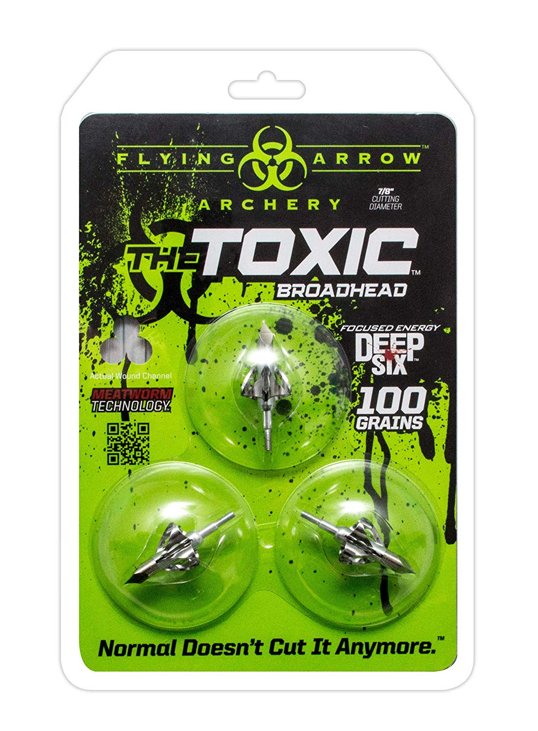 Flying Arrow Archery Toxic Broadheads