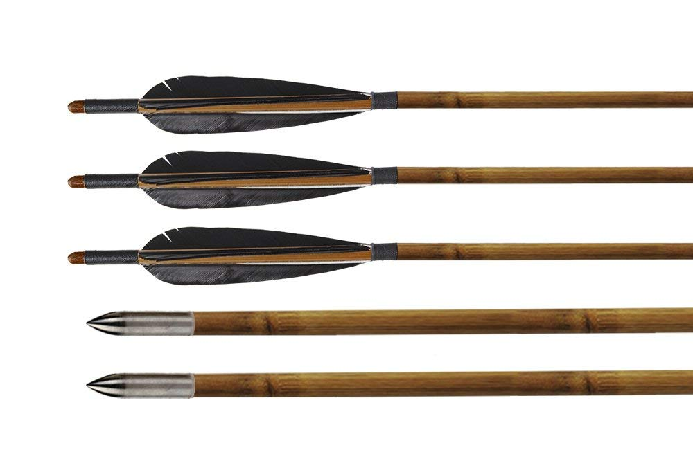 Huntingdoor Bamboo Arrows Fletching