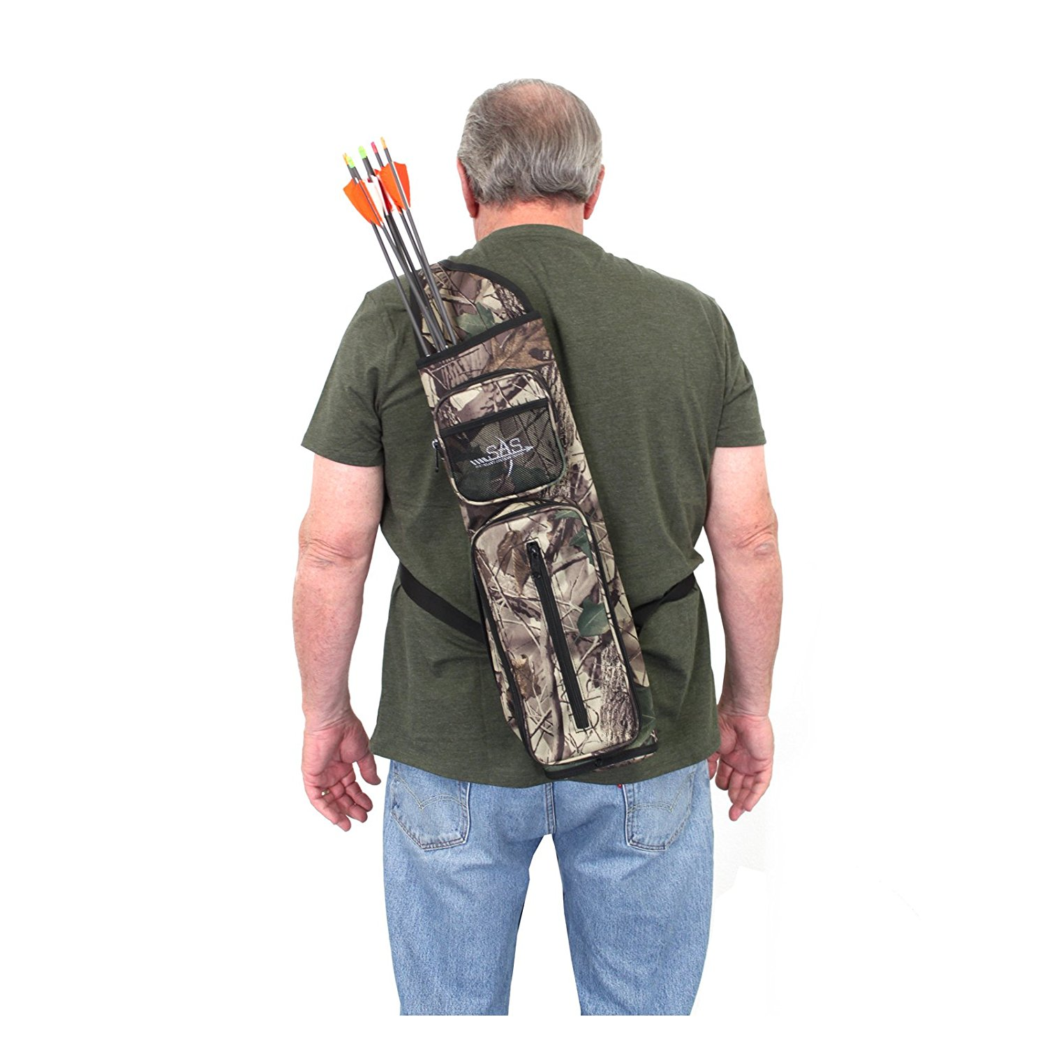 SAS Archery Back Arrow Quiver Hunting Target