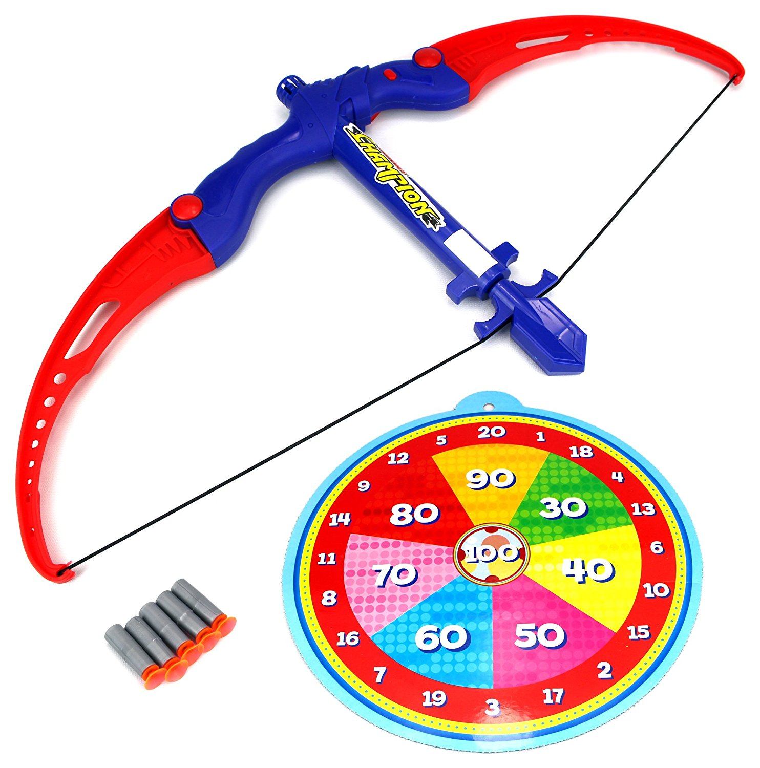 Athletics Target Bow Kids Toy Set