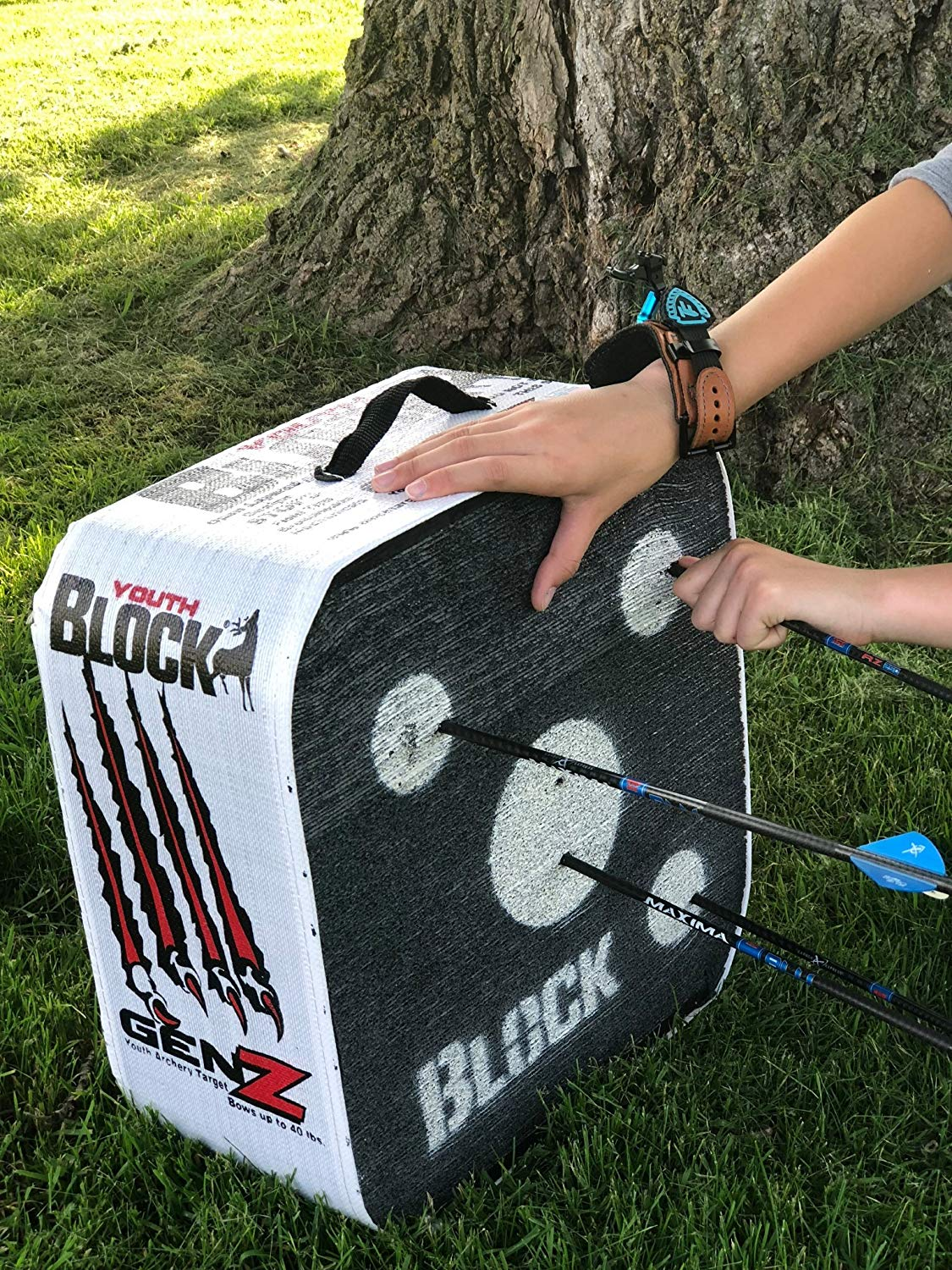 Block Genz Archery Arrow Target