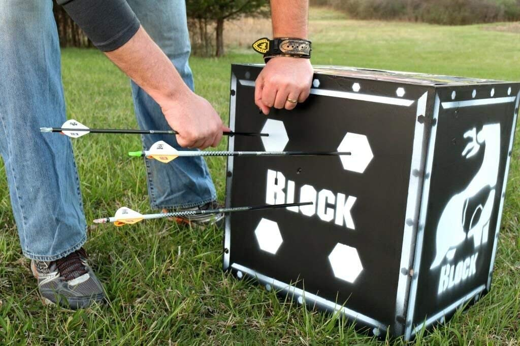 Block Vault 4 Sided Archery Target