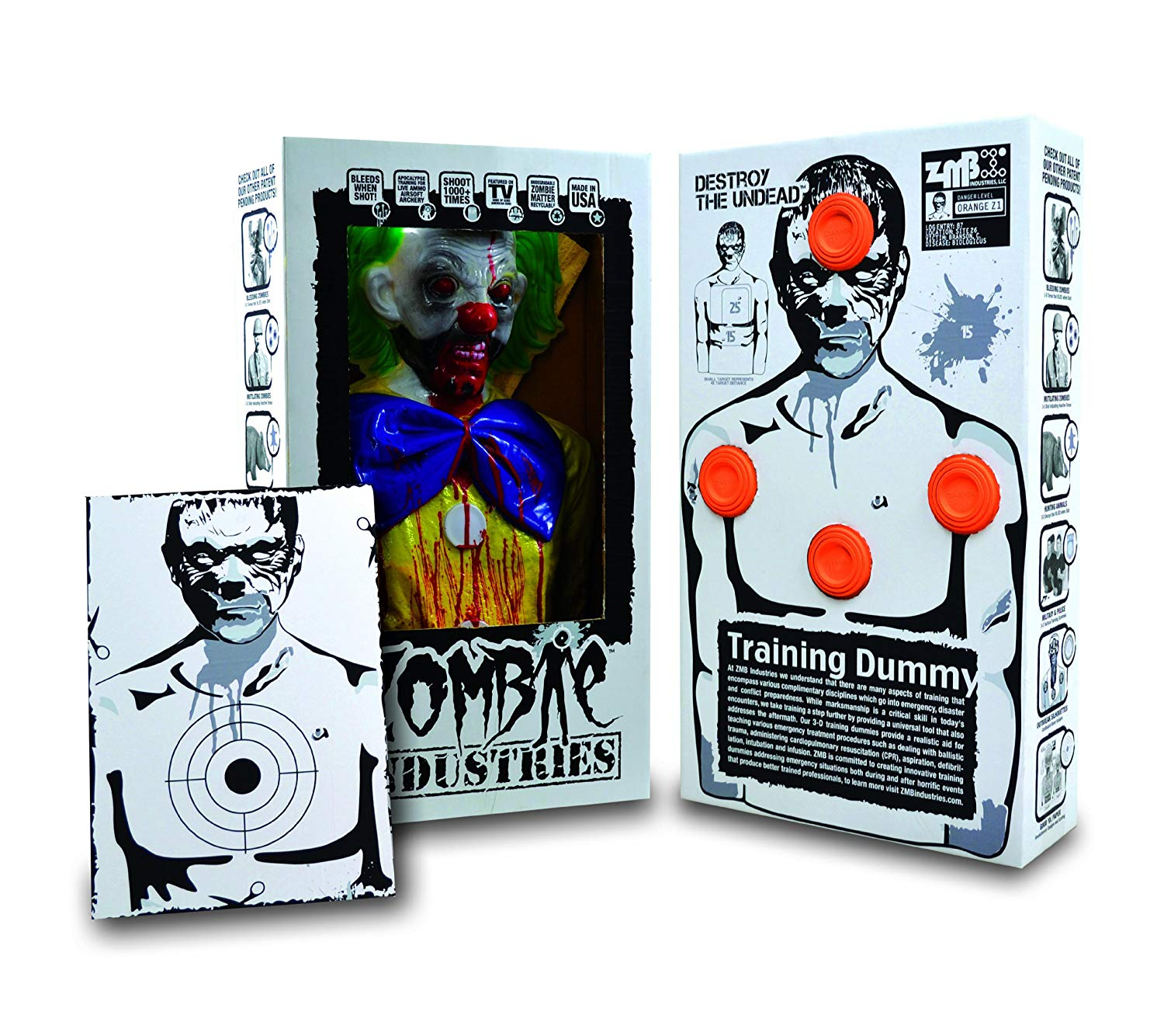 BoBo the Clown Bleeding Zombie Target