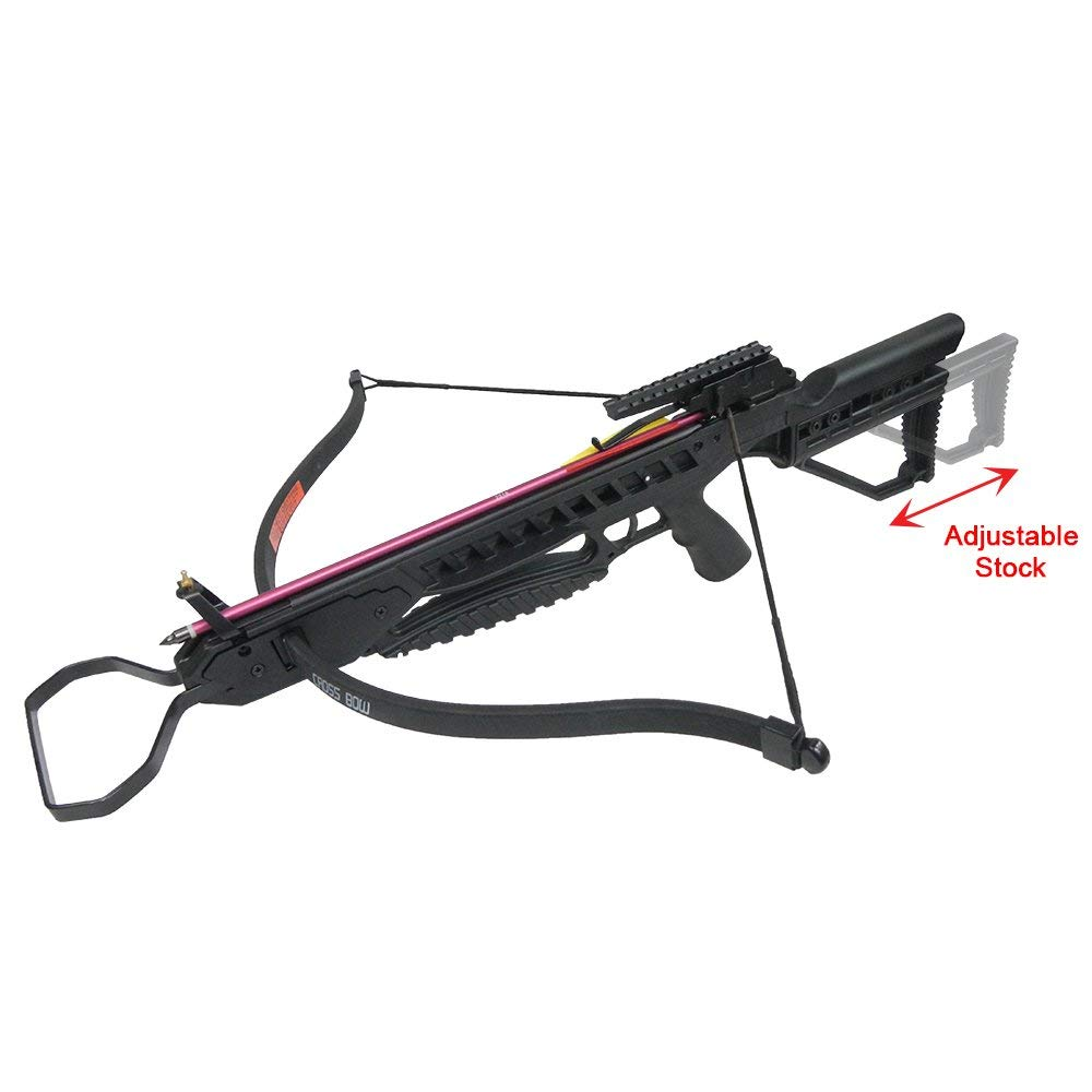 Camouflage Hunting Crossbow 175lb Black Vista