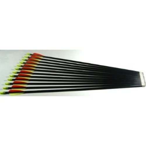 Shiny Black 30 inches Premium Target Arrows