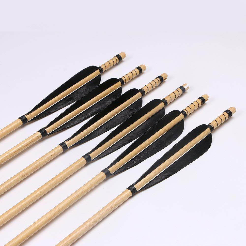 Huntingdoor Black Wooden Shaft