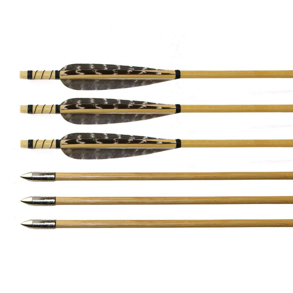 Huntingdoor Pheasant Wooden Arrows