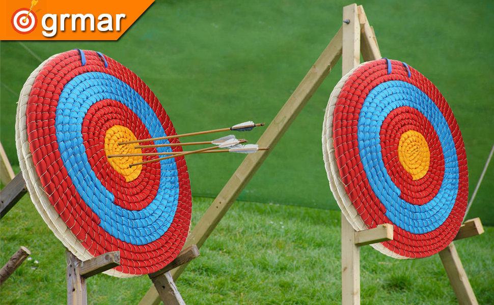 2.2 inch Thickness Hand-Made Arrows Target best for Outdoor Shooting Practice